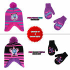 Внешний вид - Disney Vampirina Hat and Mittens Cold Weather Set, Toddler Girls, Age 2-4