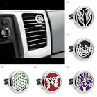 US Stock Steel Locket Car Perfume Air Vent Clip Freshener Es