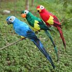 Simulation Parrot Hanging Decoration Bird Ornaments Gardening Tree Decor Props