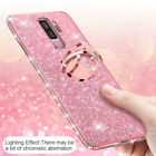 Bling Diamond Hybrid Ring Holder Stand Case Cover For Samsung Galaxy Note 9 S8/9