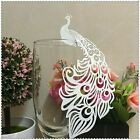 50pcs Laser Cut Paper Place Card Escort Card Cup Card Wine Glass Card Wedding De