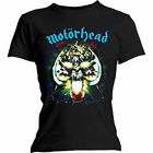 Motorhead 'Overkill' Womens Fitted T-Shirt - NEW & OFFICIAL!