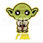 Star Wars Yoda iron on transfer $3.0 USD on eBay