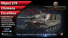 World of Tanks | NEW PERSONAL MISSIONS - EXCALIBUR, CHIMERA, Obj. 279 (WoT)