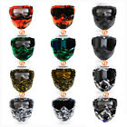 Motorcycle Modular Helmet Protective Face Mask ATV Goggles Glasses Scoot USA
