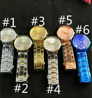 New Design Women Lady Stainless Steel Jewerly Quartz Wristwatches M / K Watches image
