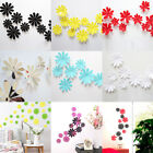 Removable 12pcs 3d Flowers Wall Sticker Decal Mural Diy Home Room Acrylic Decor