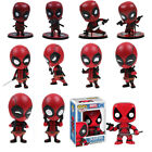 Deadpool Bobble-Head Shake Head Doll PVC Action Figure Collectible Toy w/ Box US