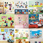 9 Style Mickey Minnie Mouse Wall Sticker Pvc Decal Diy Children Room Decor Mural