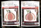 Creative Needle Arts Counted Cross Stitch Needlepoint Christmas Pumpkin Kit