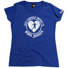 Running Tops T-Shirt Funny Novelty Womens tee TShirt - Love Yourself Enough To W