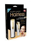 Hairless By NuBrilliance -Women's Painless Facial Face Hair Remover  Shaver NEW