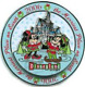 Disney Pin 50716 DLR Merriest Place on Earth 2006 Mickey & Minnie Spinner LE HTF