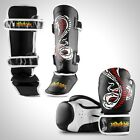 Sidekick Adults Cobra Series Leather Muay Thai Kickboxing Set Pack Gloves Shins