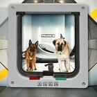 1* White ABS High Quality Control Access To The Pet Door For Small Medium Dog