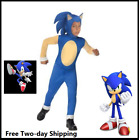 Sonic Generations Sonic The Hedgehog Costume Kids Halloween Fancy S,M,L