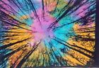 Poster Multi Color Small Tapestry Bohemian Graceful Pattern Deco Cotton Textile