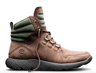 TIMBERLAND FlyRoam Mens Limited Chocolate Brown Leather Boots TBOA1LPY SALE