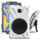 Shockproof Rotating Stand Case Cover For Samsung Galaxy Tab A 8.0 2018 SM-T387