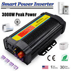 Auto Power Inverter 3000-10000W Peak Modified Sine Wave DC 12V To AC 110V BIN
