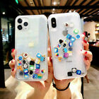 App Icon Dynamic Liquid Glitter Quicksand Clear Case Cover For iPhone X 6s 7 8+