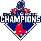 Boston Red Sox World Series CHAMPIONS 2018 Decal / Sticker