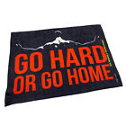 Gym Sweat Microfiber Sports Towel Bodybuilding Funny - Go Hard Or Go Home