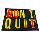 Gym Sweat Microfiber Sports Towel Bodybuilding Funny - Dont Quit Do It
