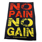 Gym Sweat Microfiber Sports Towel Bodybuilding Funny - No Pain No Gain