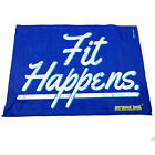 Gym Sweat Microfiber Sports Towel Jogging Funny - Fit Happens