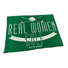 Golf Microfiber Sports Towel Funny Novelty Sweat Rag - Real Women Golf