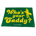 Golf Microfiber Sports Towel Funny Novelty Sweat Rag - Whos Your Caddy