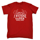 Funny Novelty T-Shirt Mens tee TShirt - This Is What Awesome Gamer