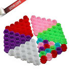 Colorful Hive Ink Cup Honeycomb Shape Tattoo Ink Cups Caps for Tattoo Accessorie $13.9 USD on eBay