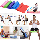 Elastic Exercise Fitness Rubber Equipment Yoga Pilates Stretch Resistance Bands image