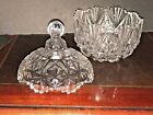 Glass  Candy Serving Bowl Clear