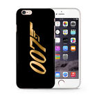 JAMES BOND AGENT OO7 GOLD PHONE CASE COVER FOR IPHONE $7.85 USD on eBay