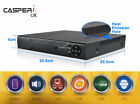 CHANNEL CCTV Security DVR HDMI Digital Video Recorder 1080P Mobile View 4/8/16