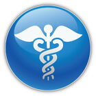 Medicine Symbol Car Bumper Sticker Decal  - 3'' Or 5''