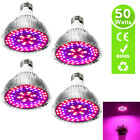 50W E27 LED Grow Light Bulb Growling Lamp for Hydroponic Plant Veg Bloom Flower