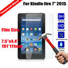 9H+ Tempered Glass Screen Cover For Amazon Kindle fire 7 2015 5th Generation Tab