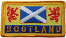More images of Scotland Saltire & Lions Rampant Embroidered Patch
