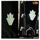 Inlay Stickers Decals Guitar LP Headstock Peghead Closed Crown (WT) - 2 pcs SET for sale