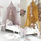 Hot Kids Baby Bedcover Bed Canopy Mosquito Net Tent Cotton Curtain Bedding Dome image