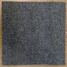 Peel and Stick Large Room Choice Colors Black Red Gray Slate Blue Carpet Tiles