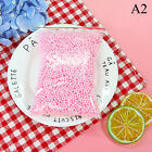 Warm colors snow mud particles accessories tiny foam bead slime ball supplies TO