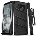 Samsung Galaxy NOTE 9 ZIZO Bolt Case with Tempered Glass Screen Protector