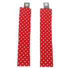 Pushchair Strap Covers Handmade Stokke Bugaboo Stroller buggy CK Red Dots CUSTOM