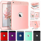 "For Ipad Mini 1 2 3 4 9.7"" 2018 Pro Case 3 In 1 Hybrid Silicone Shockproof Cover"