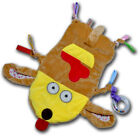 Baby Kids Security Blanket Plush Soothing Animal Toy Puppy Dog Cloth Comforter